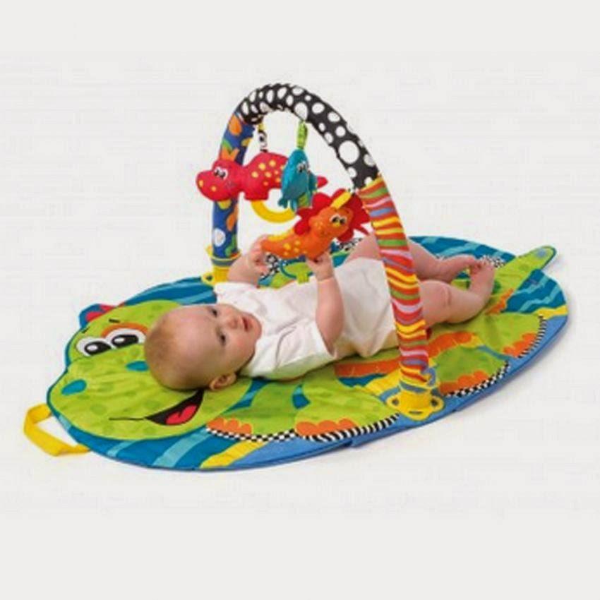 Latih Mata Bayi Fokus Melihat Dengan Mainan Bayi Berwarna Cerah